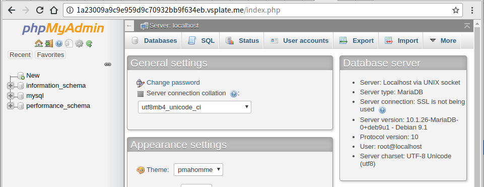 phpMyAdmin 4 8 x LFI to RCE (Authorization Required) | Vulnspy Blog