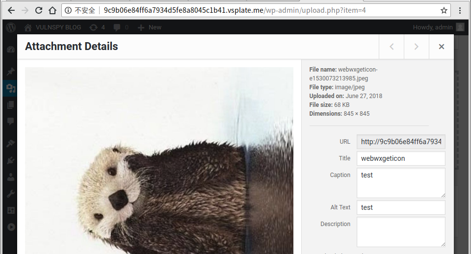 Wordpress <= 4 9 6 Arbitrary File Deletion Vulnerability